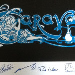 Caravan Signed poster 2015