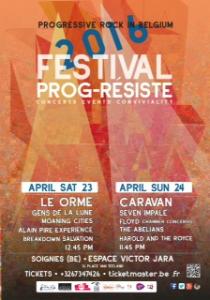 caravan prog resiste poster