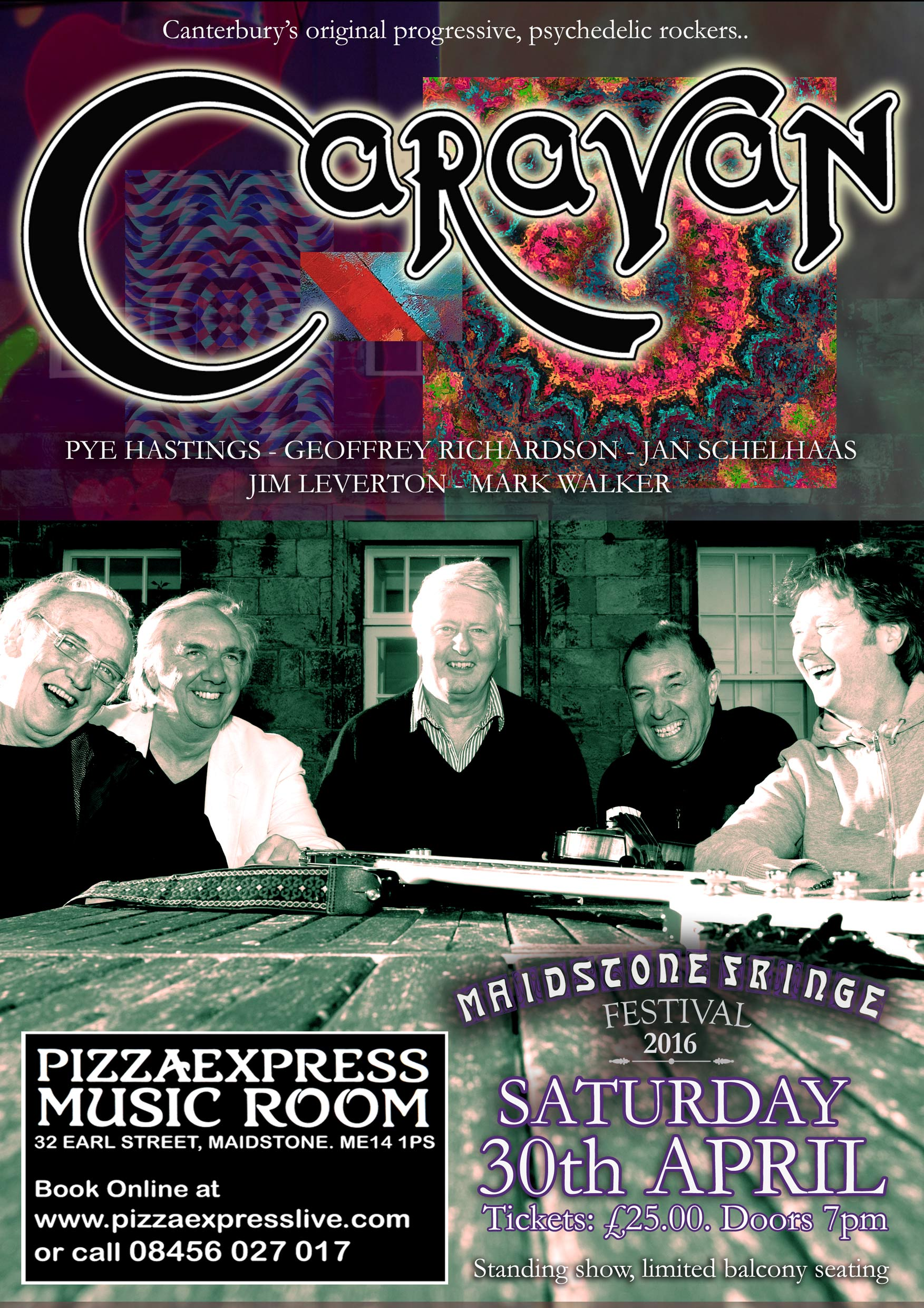 Intimate Gig This Saturday In Pizza Express Maidstone