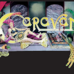 Caravan Lady Hookah A3 poster