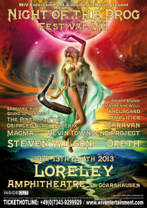 Night of the Prog Festival VIII @ Loreley Amphitheater | Rhineland-Palatinate | Germany