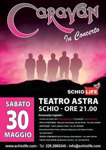 Caravan-MAY 30th 2015   Teatro Astra, Schio, Italy @ Teatro Astra | Schio | Veneto | Italy