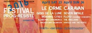Festival Prog-Résiste 2016 @ Centre Culturel de Soignies | Soignies | Région wallonne | Belgium